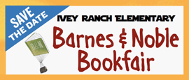 Ivey Ranch Elementary Barnes & Noble Bookfair